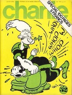 Charlie Mensuel - # 52 - Mai 1973 - Couverture de Segar