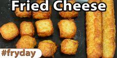 Deep Fried Cheese   Video - Caveman Keto
