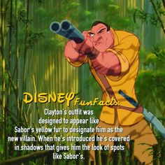 Tarzan disney fact