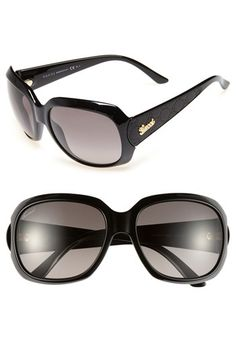 Gucci 60mm Sunglasses (Online Exclusive) available at #Nordstrom Gucci ♥