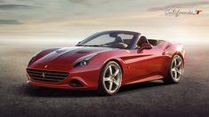 Ferrari California T - front three-quarters view #Ferrari