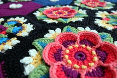I have always loved the work of Artist Frida Kahlo and have wanted to design a project using Mexican Folk art and in particular embroidered textiles as the design inspiration for a long time. When I designed this project I wanted to create a blanket with a 3D effect and so found various ways of making the crochet flowers stand out from the background. The Frida's Flowers Crochet Along Project is available as 8 free download patterns via the Stylecraft web site and the yarn used is Classique…