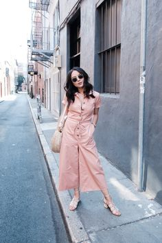 Madewell Wide Leg Utility Jumpsuit via @KateOgata in San Francisco