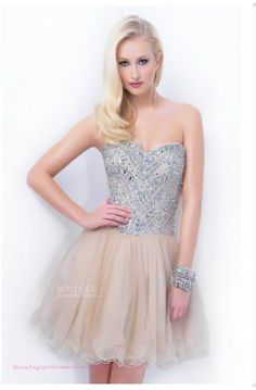 Sweetheart Short/Mini A-line Champagne Homecoming Dress