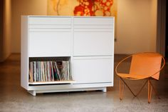 LP Storage Cabinet ...in white. need