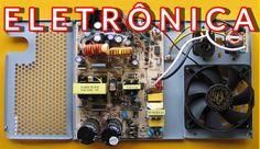 Eletrônica Campo Elétrico : Amplificador 200W Best Subwoofer, Home Appliances, Electric Field, Audio Amplifier, Microwaves, Collages, Simple, Lab, Houses