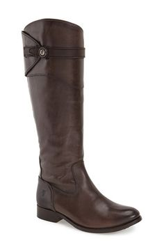 Free shipping and returns on Frye 'Molly Button' Riding Boot (Women) at Nordstrom.com. Superior craftsmanship shines through on a pair of timeless leather riding boots shaped with a rounded toe and finished with a smartly buttoned strap.