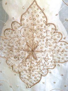 1920's Inspired Cape Bride Shrug Wedding Dress by fresheyedesign