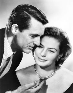 Cary Grant and Ingrid Bergman [1958]