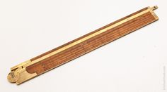 Rare! STANLEY & CO. TYPE ONE No. 14 Carpenter's Slide Rule with Gunter's Scales