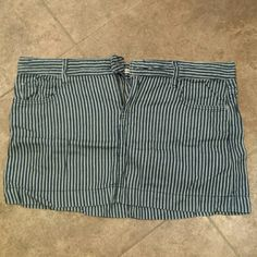 Barely worn. Limited edition gap skirt. Barely worn limited edition gap skirt. Navy and white striped.100 percent cotton. GAP Skirts