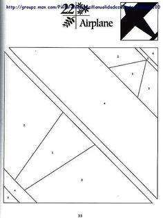 paper piecing patterns plane: 23 тыс изображений найдено в Яндекс.Картинках