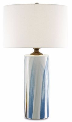 Currey And Company Tao White Table Lamp