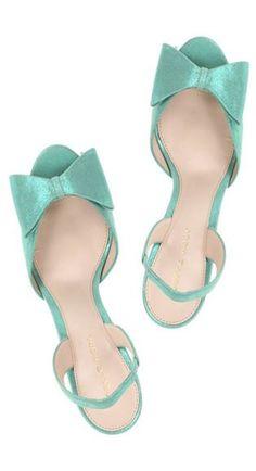 pretty bow heels