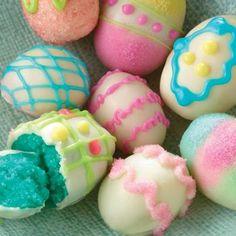 Easter Egg Cake Bites..