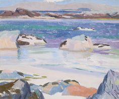 urgetocreate//: Francis Cadell 1920 Scottish landscape in oil