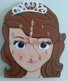 Reloj Princesa Sofia