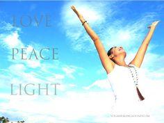 Bildresultat för love peace light