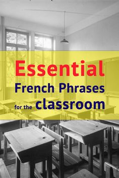 111 Essential French Phrases For The Classroom - AllWorldLanguages French Teaching Resources, Teaching French, Teaching Ideas, Teaching Spanish, Learning Resources, Teaching Reading, Useful French Phrases, French Flashcards, High School French
