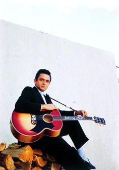 Johnny Cash by Don Hunstein