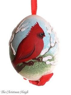 Peter-Priess-of-Salzburg-Austrian-Hand-Painted-Christmas-Egg-Red-Cardinal