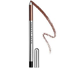 Marc Jacobs Beauty - Highliner - Gel Crayon in Ro (Cocoa) - bronze with shimmer. Instant love!  Slides like a dream. Wears like no other liner outside of Urban Decay's 24/7 Gliders which are my personal favorites. One try and you'll be hooked. I am. Also loving Jazz Berry.