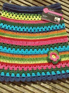 Crochet Skirt Pattern, Crochet Skirts, Easy Crochet Patterns, Crochet Clothes, Knitting Patterns, Crochet Diagram, Love Crochet, Beautiful Crochet, Crochet For Kids