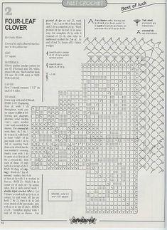 Kira scheme crochet: Scheme crochet no. 1408