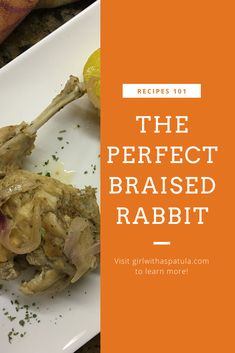 This Italian Braised Rabbit recipe can easily be transformed into a hearty dish by adding some root vegetables and a little more bone broth. Parmesan Recipes, Meat Recipes, Cooking Recipes, Braised Rabbit Recipe, Fried Rabbit, Best Easy Dinner Recipes, Healthy Family Dinners, Rabbit Food, I Foods