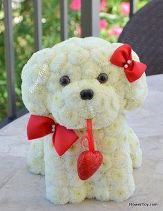 FlowerToy Happy Love Doggy