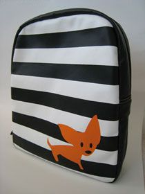 stripey doogle backpack