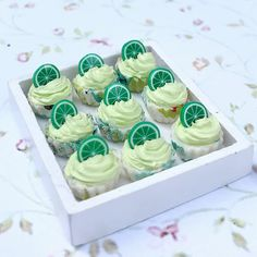 20 Loose Cupcake Almond Top Dollhouse Miniatures Food Bakery Deco