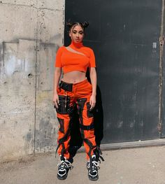 Rave Outfits, Summer Outfits, Fashion Outfits, Street Outfit, Street Wear, Urban Fashion, Trendy Fashion, Fiesta Outfit, Camouflage Pants
