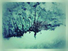 winter auf der fensterbank, fotografik, ipad, 29.12.14