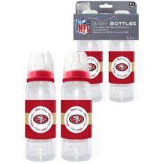 San Francisco 49ers NFL Baby Bottles