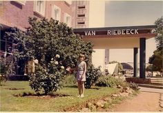 Van Riebeek Hotel, Vanderbijlpark - at one time the best hotel in the town.