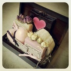 Be My Valentine Soap: Be My Valentine` is most probably every soap lover dream... a handmade wooden box with 2 decadent aromatherapy soap, dragon blood glycerin soap, a rose and lavender bath fizzy and a natural lufa . Your bath will smell just like a spa!
