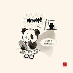 Panda make up