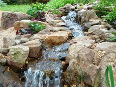 landscaped water features | water features water features are a great accent to any landscape ...