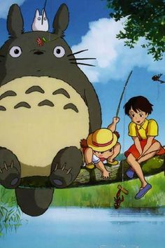 For all of my friends who think I made this movie up....Totoro is REAL!