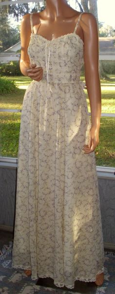Gunne Sax Dress In the Sunshine of Your Love Vintage by artemis53, $140.00
