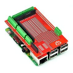 escudo de creacion de prototipos para raspberry pi 3pi 2modelo b modelo a - Categoria: Avisos Clasificados Gratis  Estado del Producto: NuevoThis a Raspberry Pi Model B prototyping shield from Tinysine, You can stack it on your Raspberry Pi Model B easily which can snap onto the Pi B main board assembly and is removable later if you wish and gives you all sorts of prototyping goodness to make building on top of the Pi B super easy We added lots of basic but essential goodies First up…