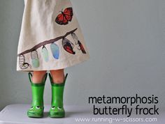 Running With Scissors: Metamorphosis Butterfly Frock