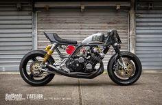 Honda CBX1000 Cafe Racer by BadSeeds Motorcycle Club #caferacer #motorcycles #motos | caferacerpasion.com