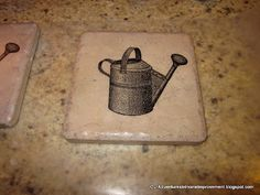 Our Adventures in Home Improvement: DIY Coasters