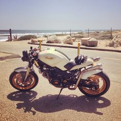 Ducati Monster by Motolady Ducati Monster 750, Cafe Bike, Motorcycle Gear, Biker, Vehicles, Wheels, Trucks, Cars, Awesome