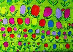 Voorjaar; kunstenaar Elly