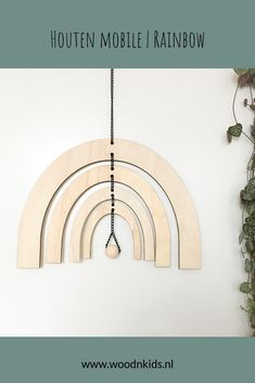 Laser Cut Wood, Laser Cutting, Mobiles, Banners, Woodworking, Rainbow, Ideas, Poster, Home