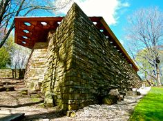 Frank Lloyd Wright's Kentuck Knob. A must see if you visit Falling Water nearby.