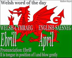 """Welsh Word of the Day: Pretend you're an elf from LOTR (the movie) and the blowing """"LL"""" sound will be easier. ;-) #WELSH #WALES"""